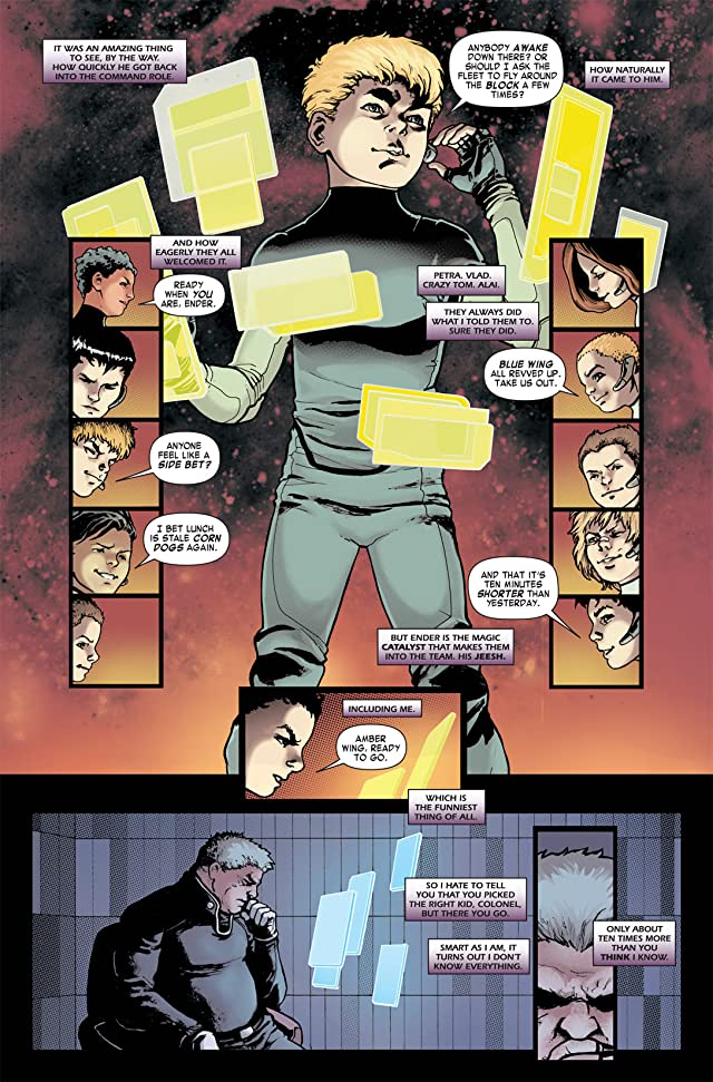 click for super-sized previews of Ender's Shadow Book Two: Command School #5