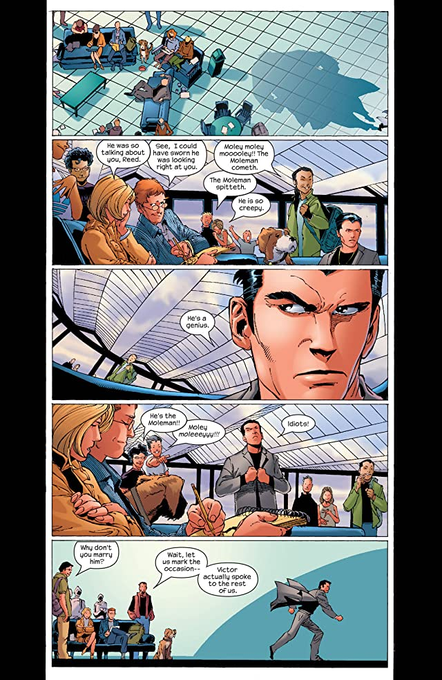click for super-sized previews of Ultimate Fantastic Four #2