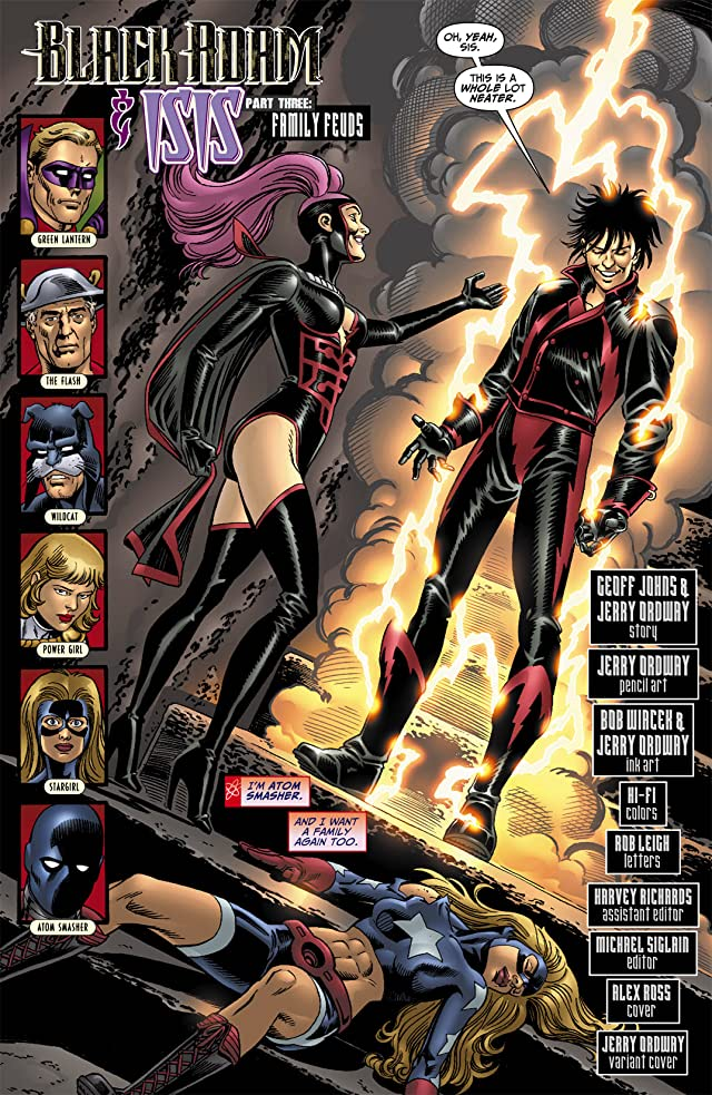 click for super-sized previews of Justice Society of America (2007-2011) #25