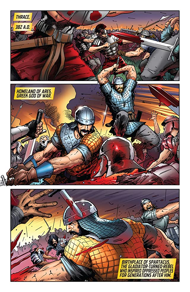 click for super-sized previews of X-O Manowar (2012- ) #21: Digital Exclusives Edition