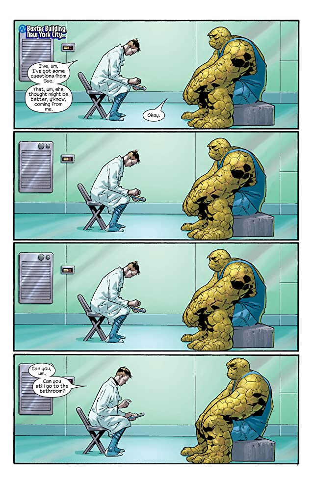 click for super-sized previews of Ultimate Fantastic Four #8