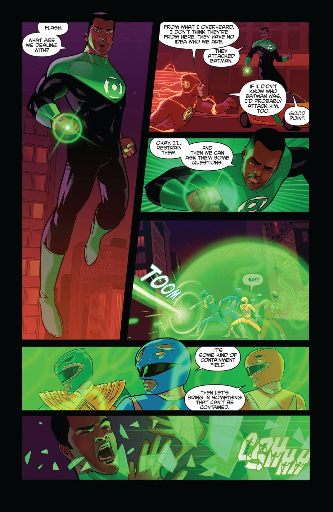 Justice League/Power Rangers (2017-) #2