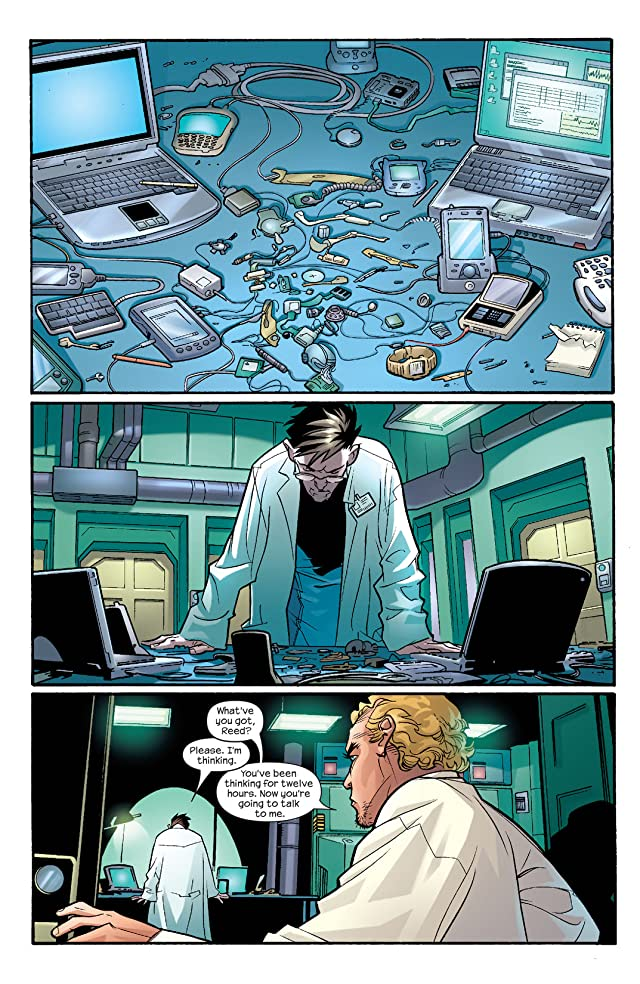 click for super-sized previews of Ultimate Fantastic Four #10