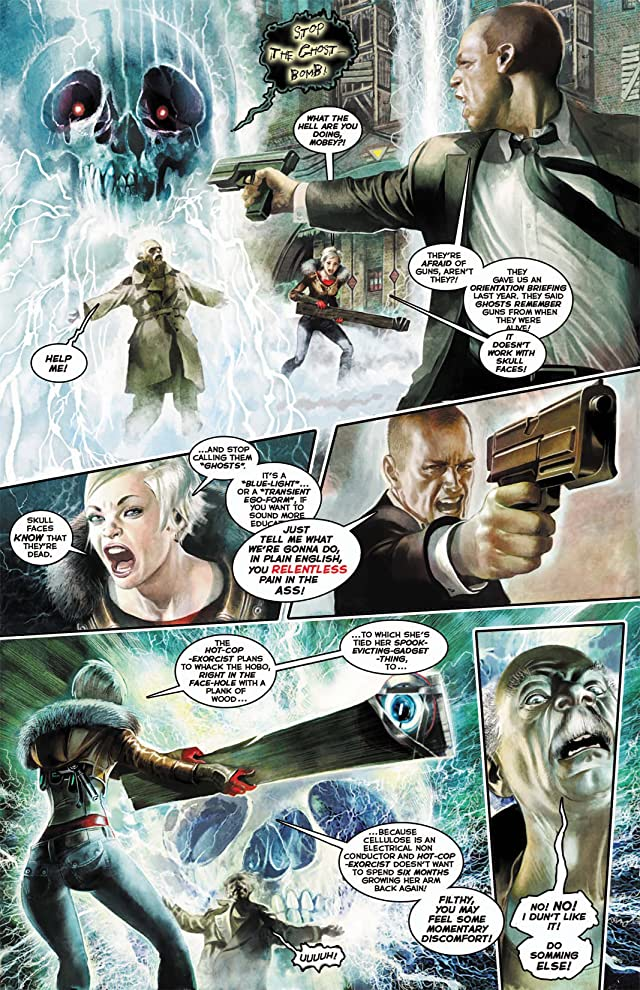click for super-sized previews of Hotwire: Requiem for the Dead #2 (of 4)