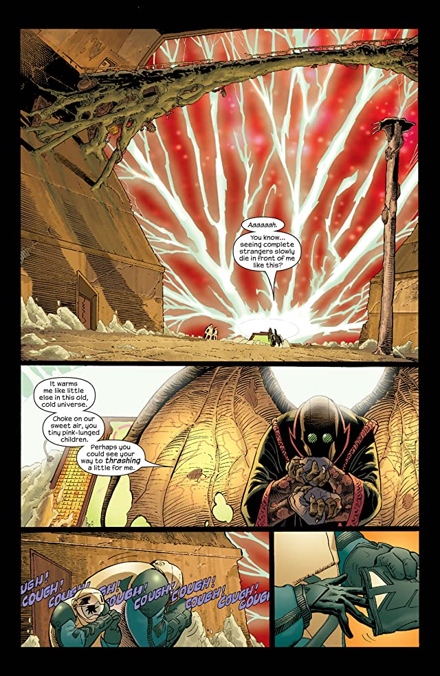 click for super-sized previews of Ultimate Fantastic Four #17