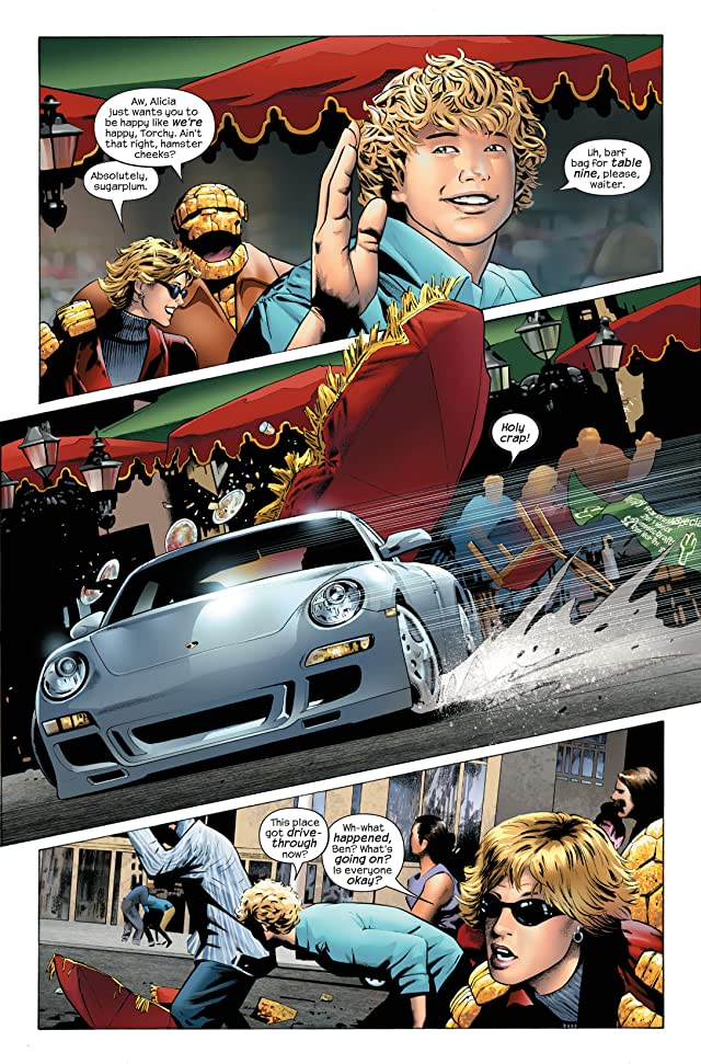 click for super-sized previews of Ultimate Fantastic Four #30