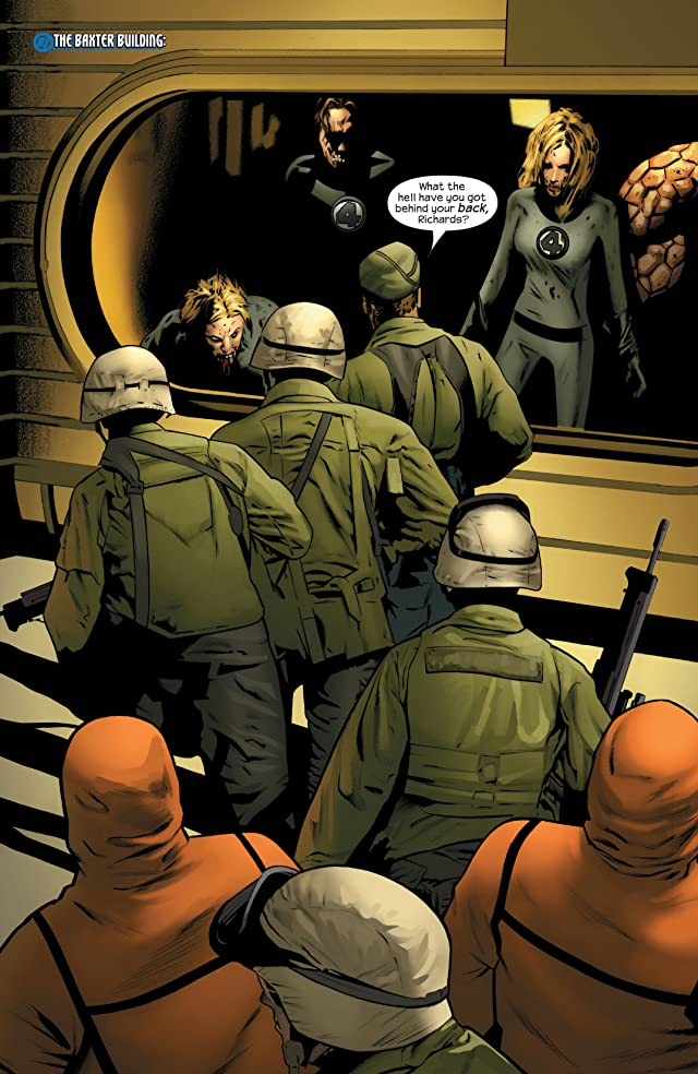 click for super-sized previews of Ultimate Fantastic Four #31