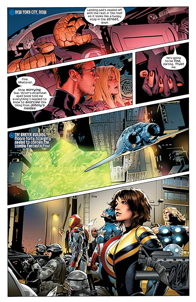 click for super-sized previews of Ultimate Fantastic Four #32