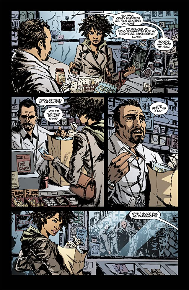 click for super-sized previews of Fringe: Tales From the Fringe #3