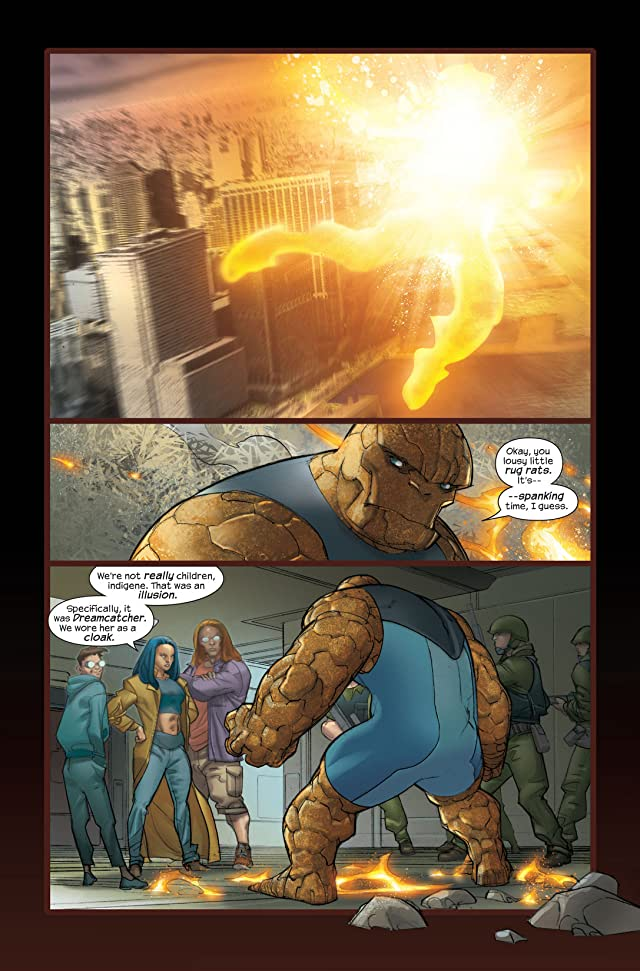 click for super-sized previews of Ultimate Fantastic Four #34