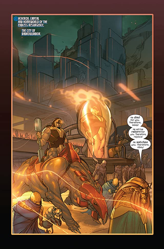 click for super-sized previews of Ultimate Fantastic Four #35