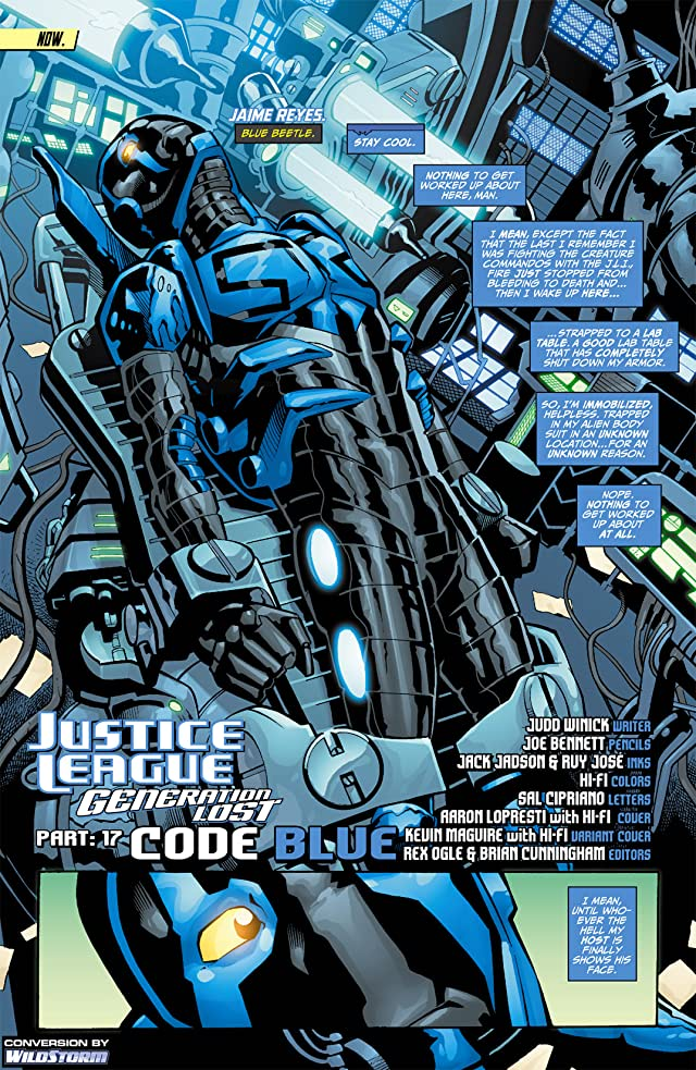 click for super-sized previews of Justice League: Generation Lost #17