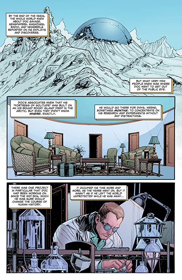 click for super-sized previews of Doc Savage #2: Digital Exclusive Edition