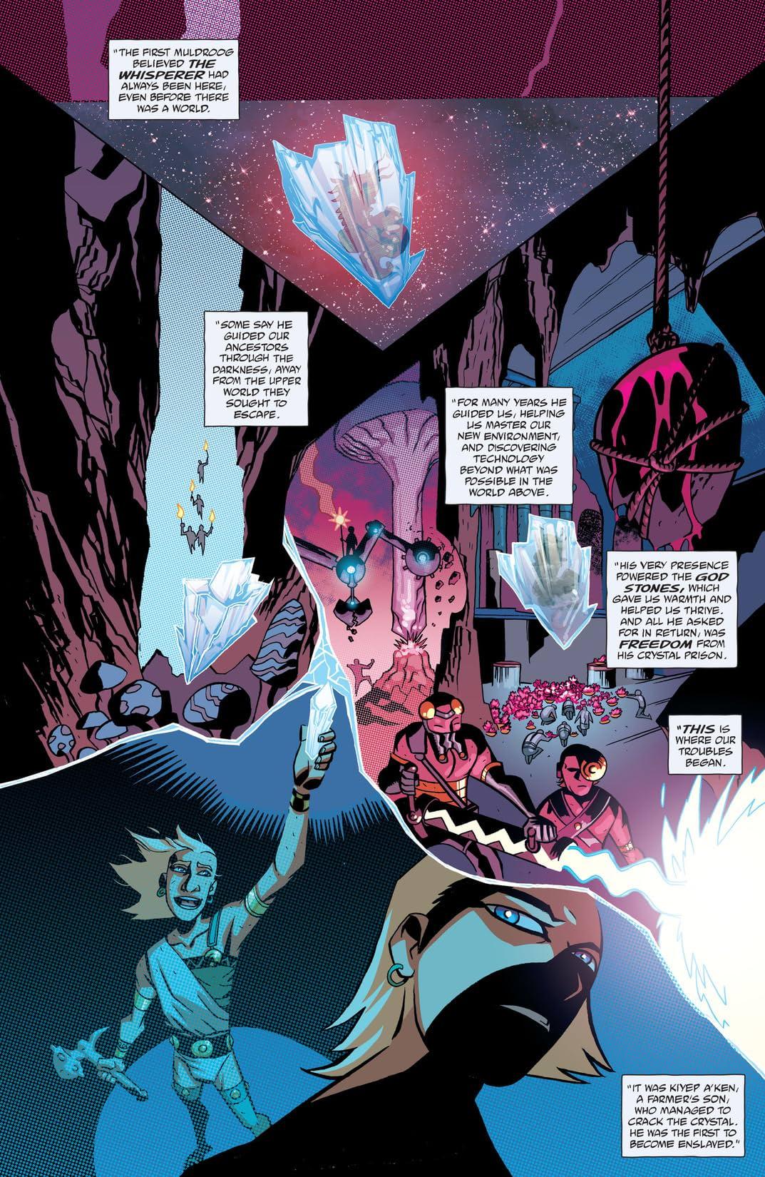 Cave Carson Has a Cybernetic Eye (2016-) #5
