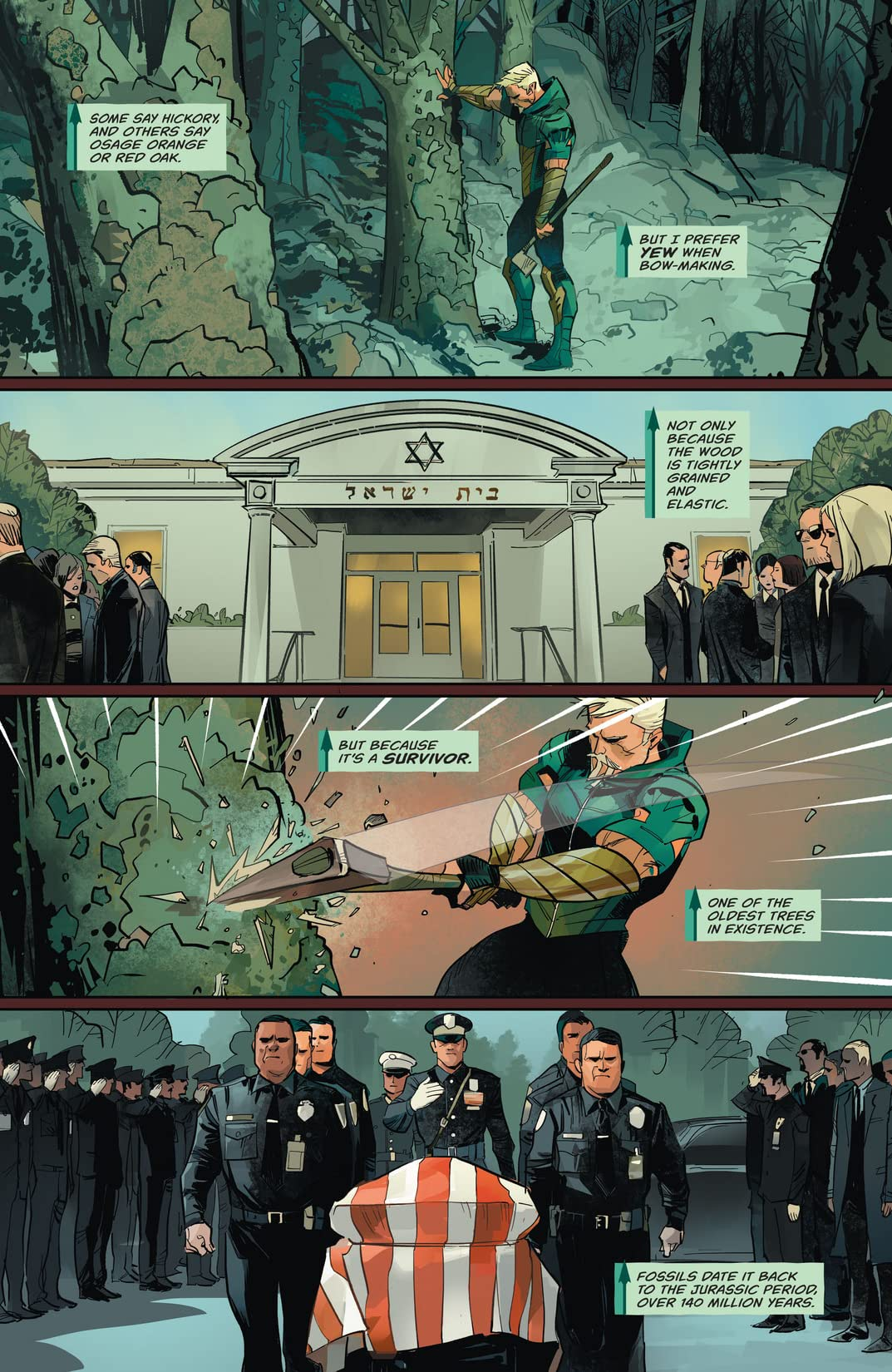 Green Arrow (2016-) #17