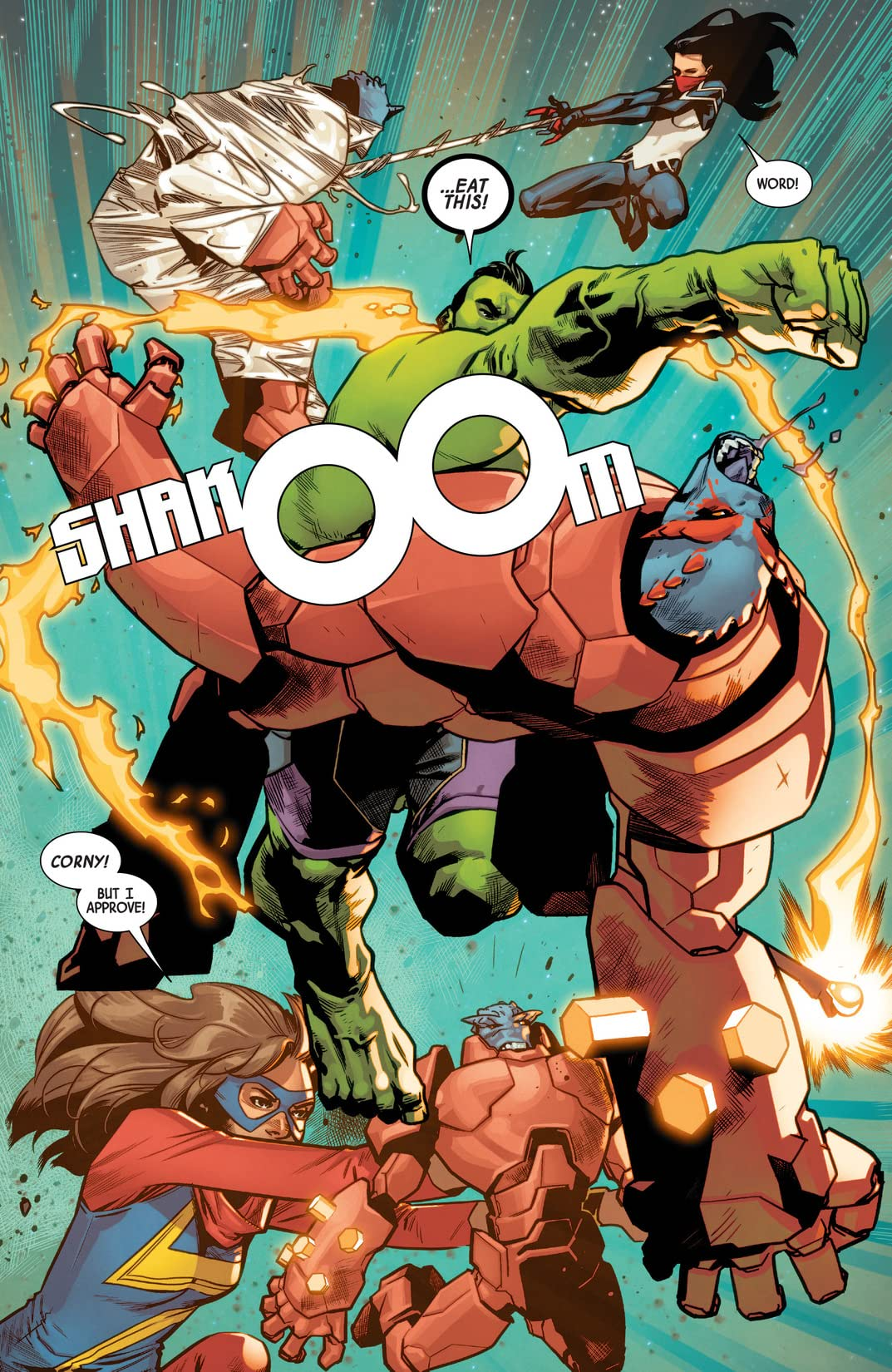 The Totally Awesome Hulk (2015-) #16