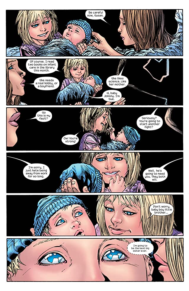 click for super-sized previews of Ultimate Fantastic Four #60