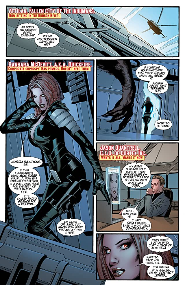 click for super-sized previews of Mighty Avengers (2013-) #5