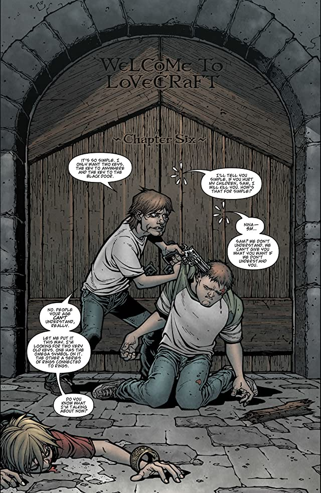 click for super-sized previews of Locke & Key: Welcome to Lovecraft #6