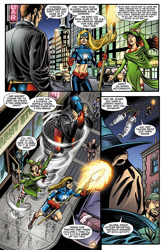 click for super-sized previews of Justice Society of America (2007-2011) #27