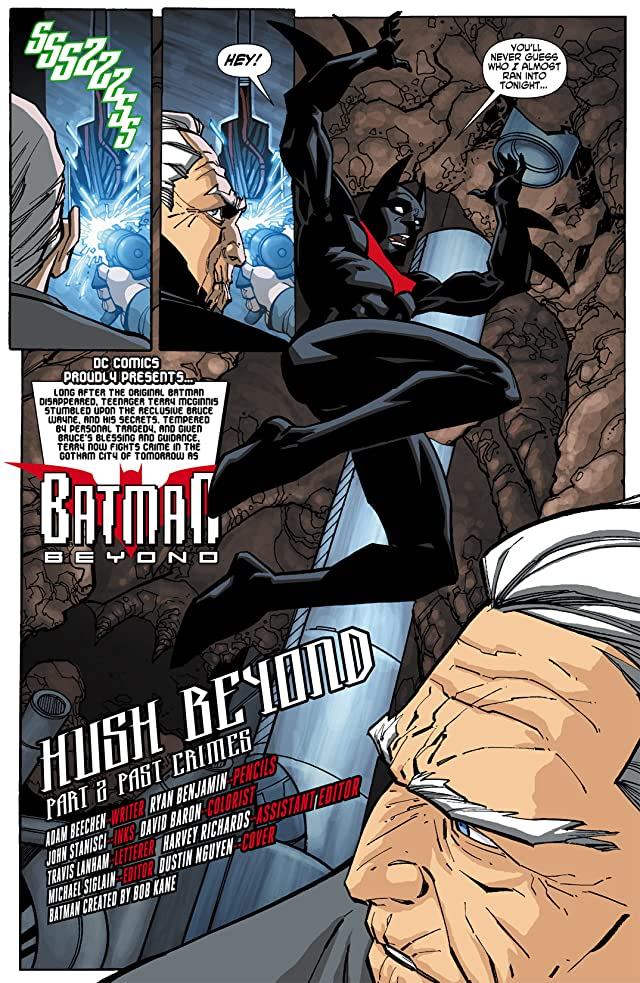 click for super-sized previews of Batman Beyond (2010) #2