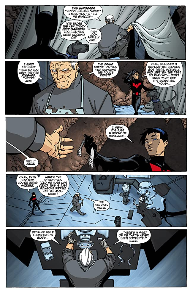 click for super-sized previews of Batman Beyond (2010) #2 (of 6)