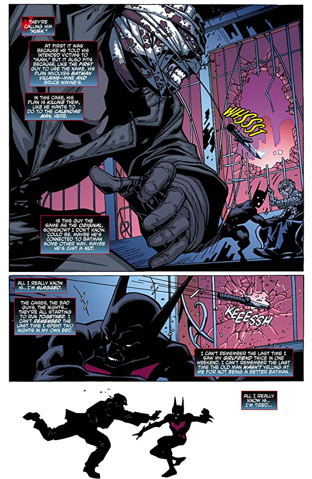 click for super-sized previews of Batman Beyond (2010) #3