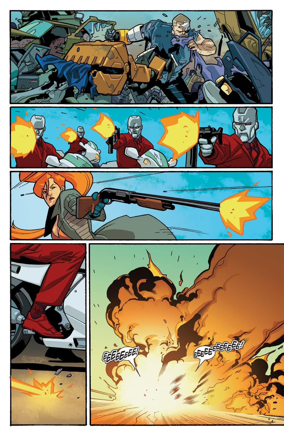Nextwave: Agents of HATE #4