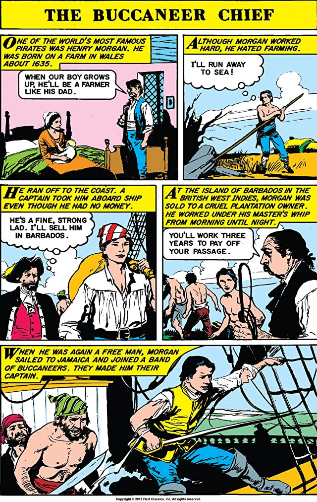 Classics Illustrated World Around Us #7: Pirates