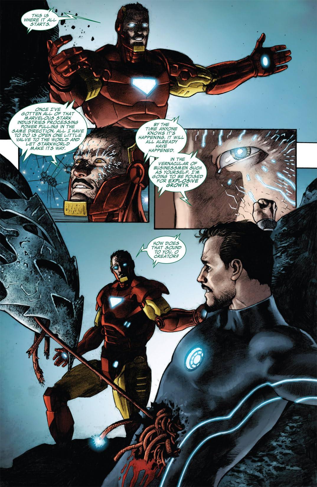 Iron Man: The Rapture #3 (of 4)