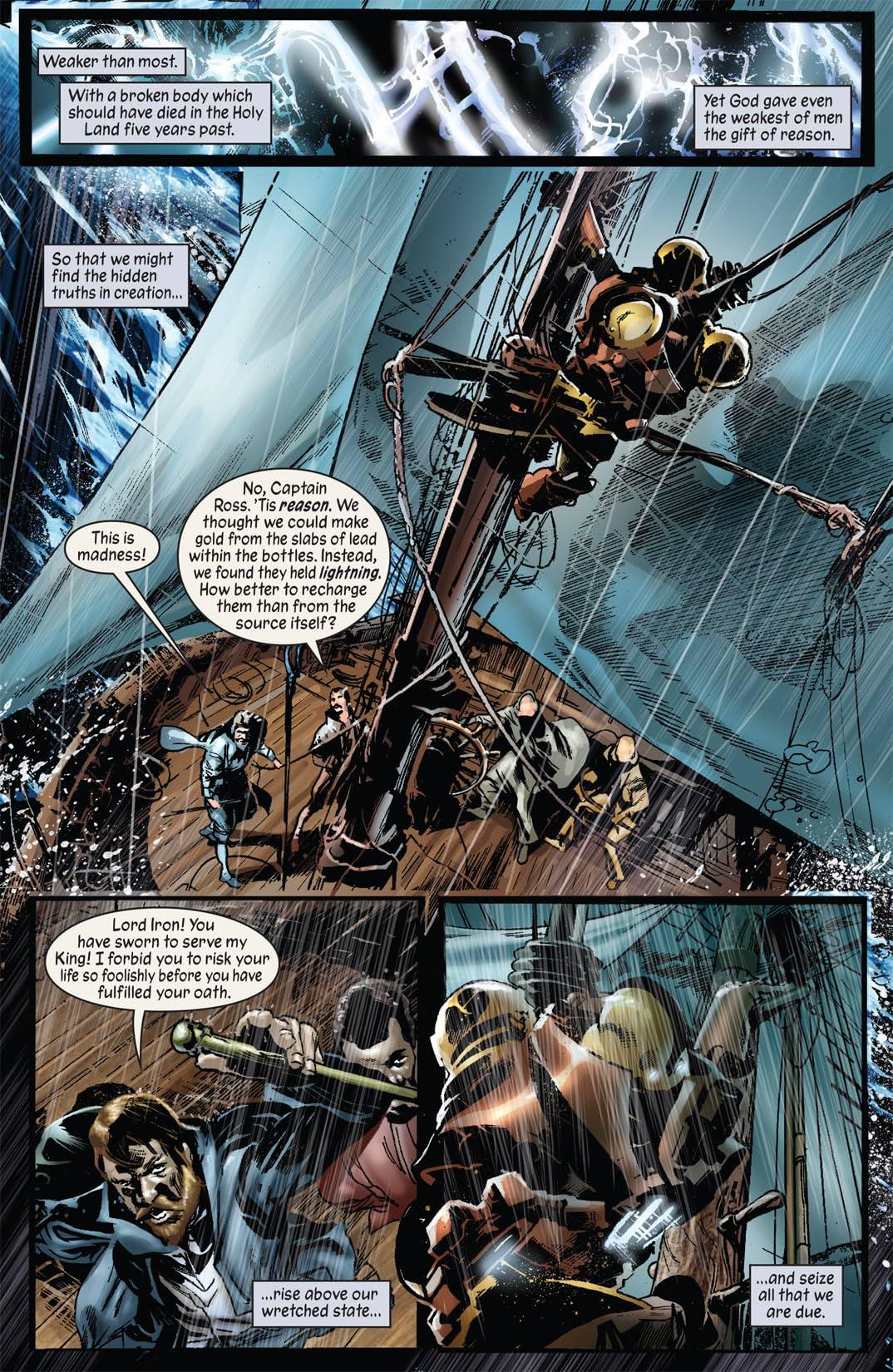 Marvel 1602 #3: New World