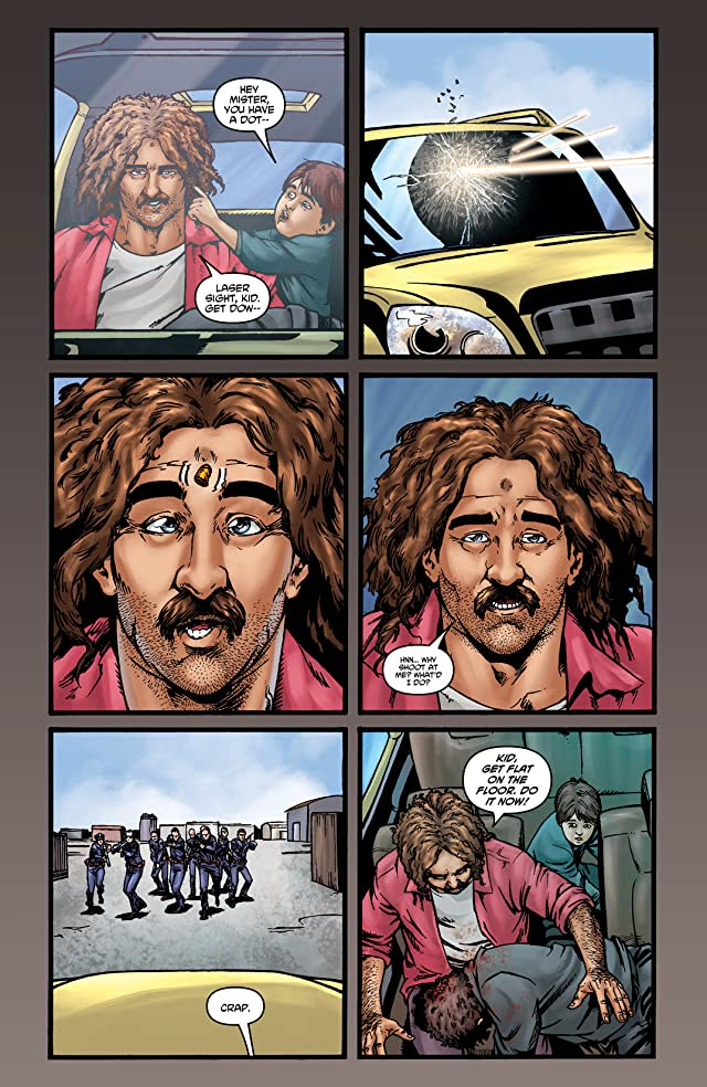 click for super-sized previews of Dan the Unharmable #4