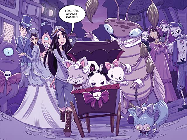 click for super-sized previews of Vamplets: The Nightmare Nursery #4