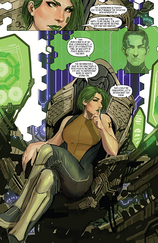 click for super-sized previews of Aphrodite IX: The Hidden Files #1
