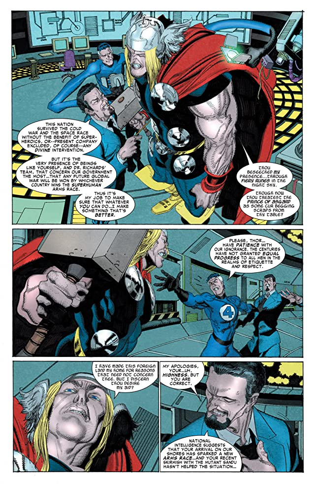 click for super-sized previews of Thor: First Thunder #4