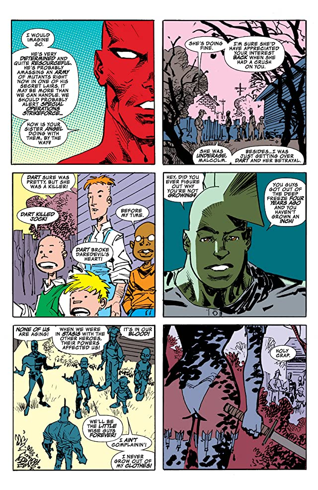 click for super-sized previews of Savage Dragon: The End
