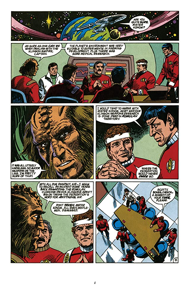 click for super-sized previews of Star Trek Classics Vol. 5: Who Killed Captain Kirk?