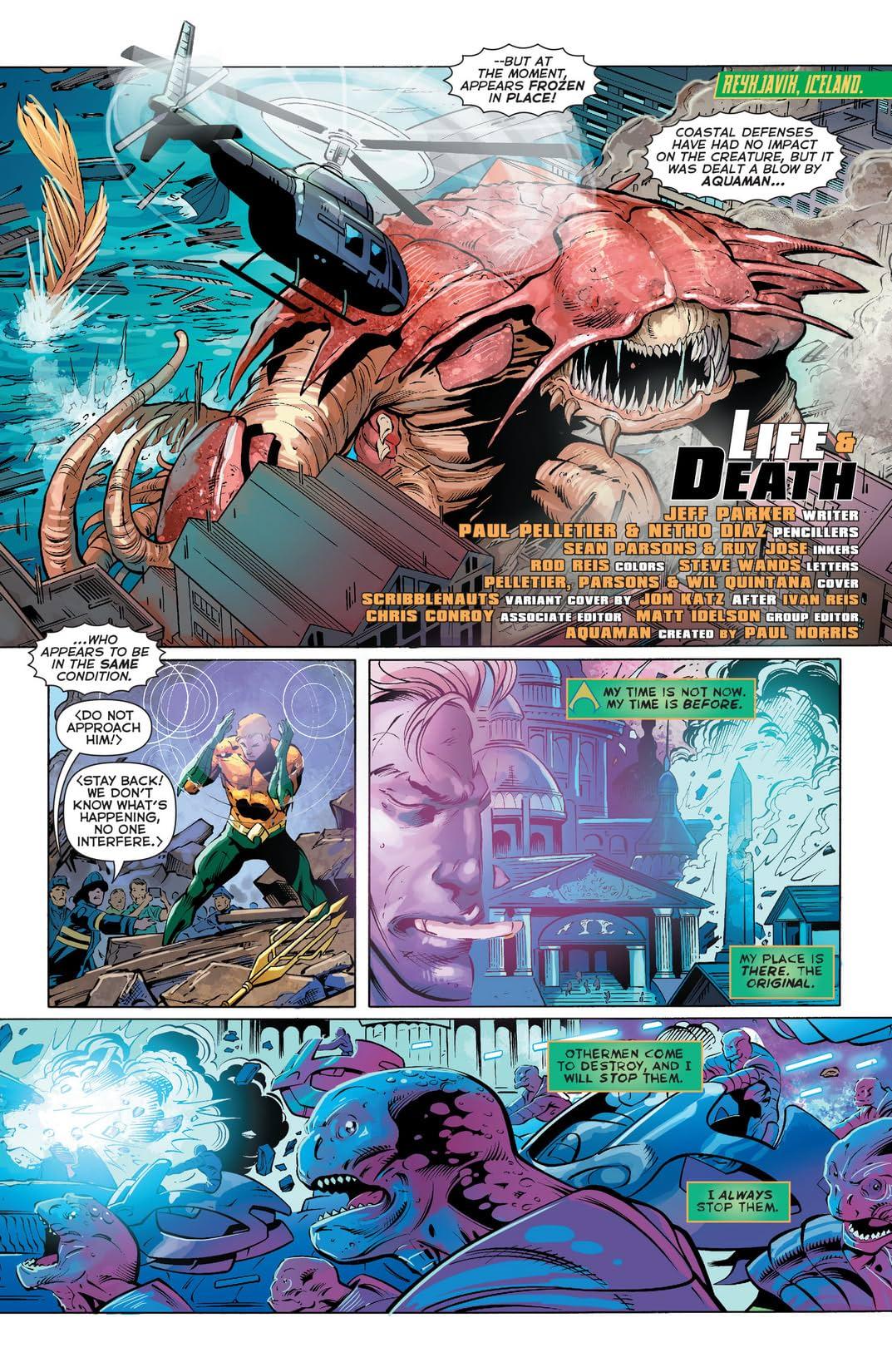 Aquaman (2011-2016) #27