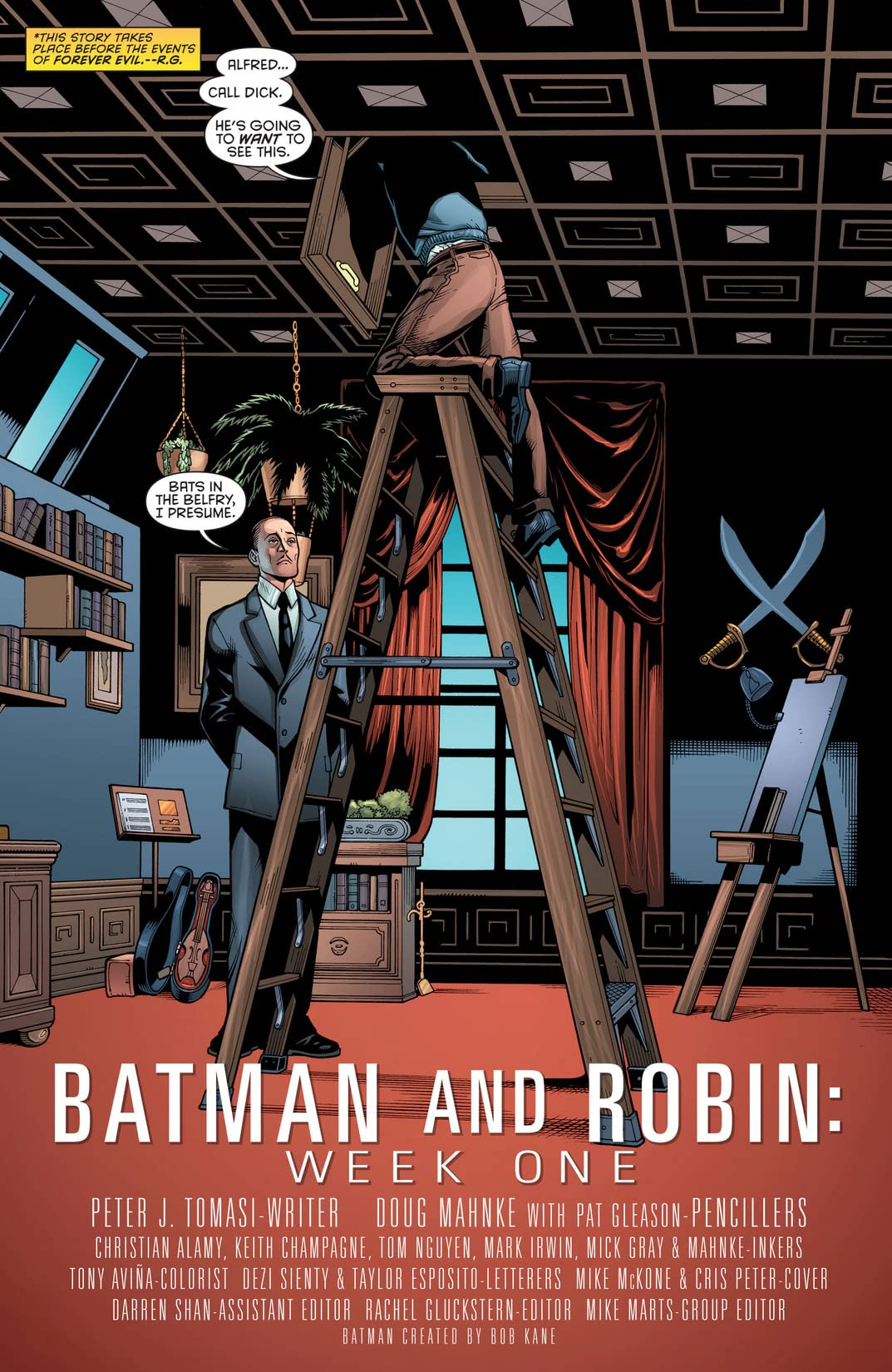 Batman and Robin (2011-2015): Annual #2