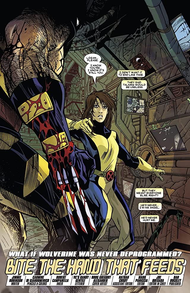 click for super-sized previews of What If? Wolverine: Enemy of The State