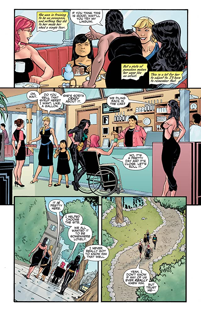 click for super-sized previews of Birds of Prey (1999-2009) #96