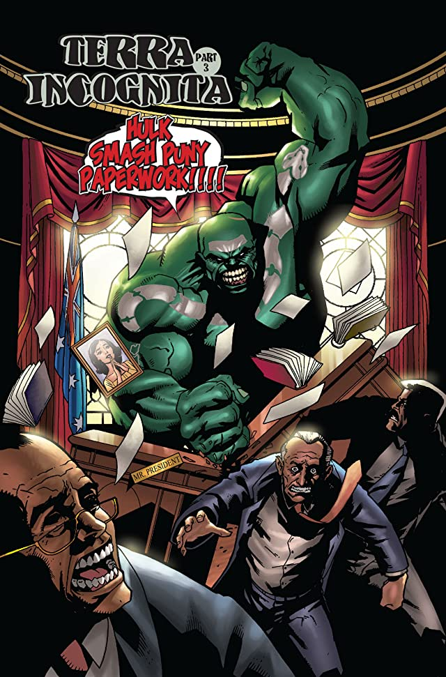click for super-sized previews of Incredible Hulk (1999-2008) #85