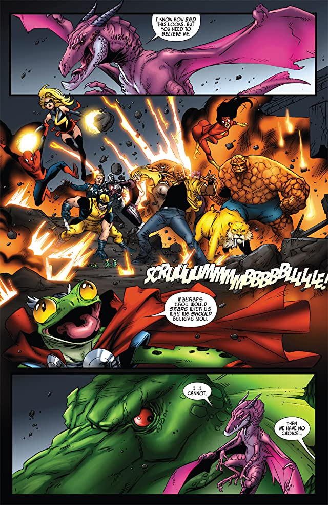 click for super-sized previews of Avengers vs. Pet Avengers #3 (of 4)