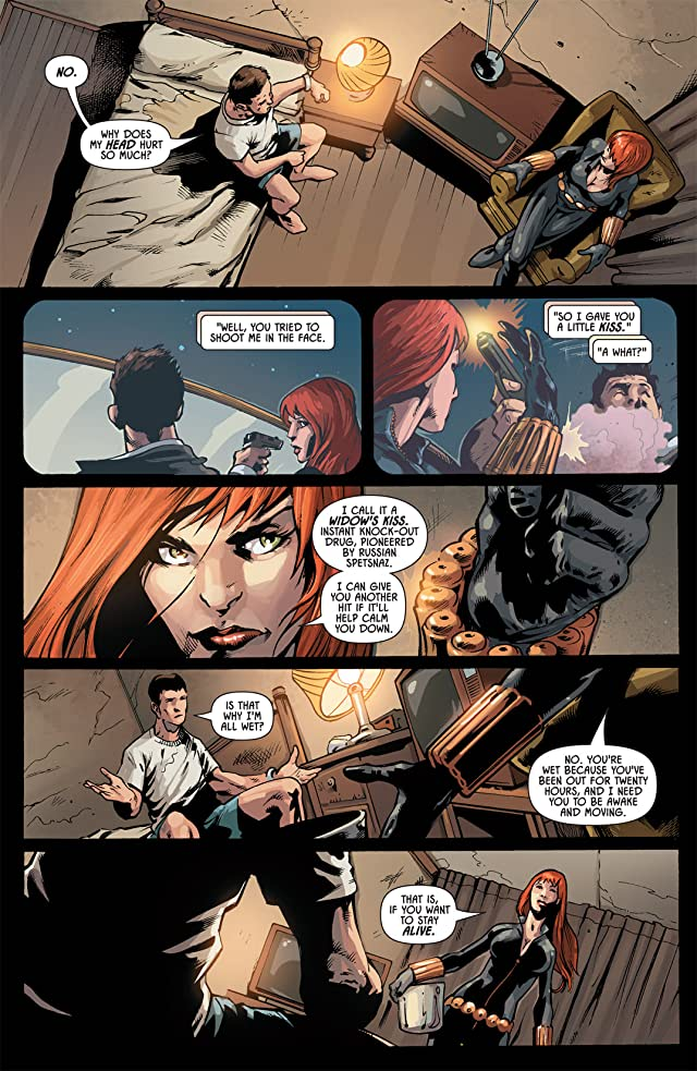click for super-sized previews of Black Widow (2010) #7