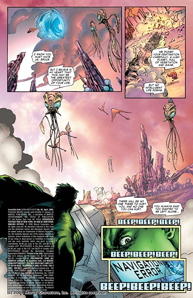 click for super-sized previews of Incredible Hulk (1999-2008) #92