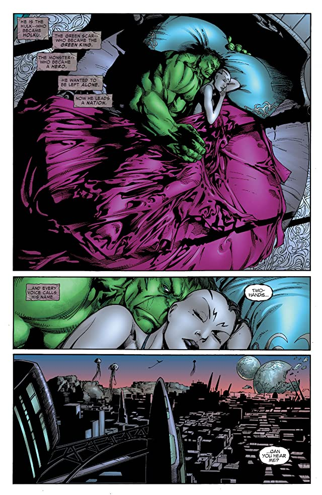 click for super-sized previews of Incredible Hulk (1999-2008) #104