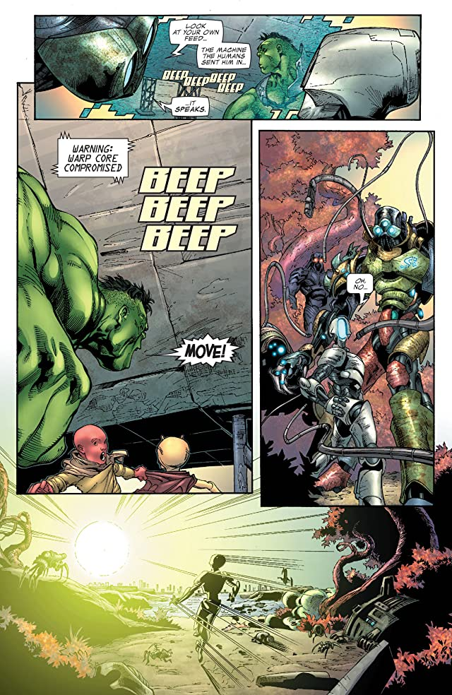 click for super-sized previews of Incredible Hulk (1999-2008) #105