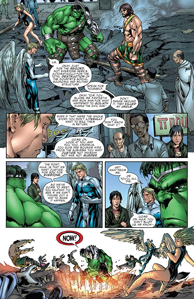 click for super-sized previews of Incredible Hulk (1999-2008) #109