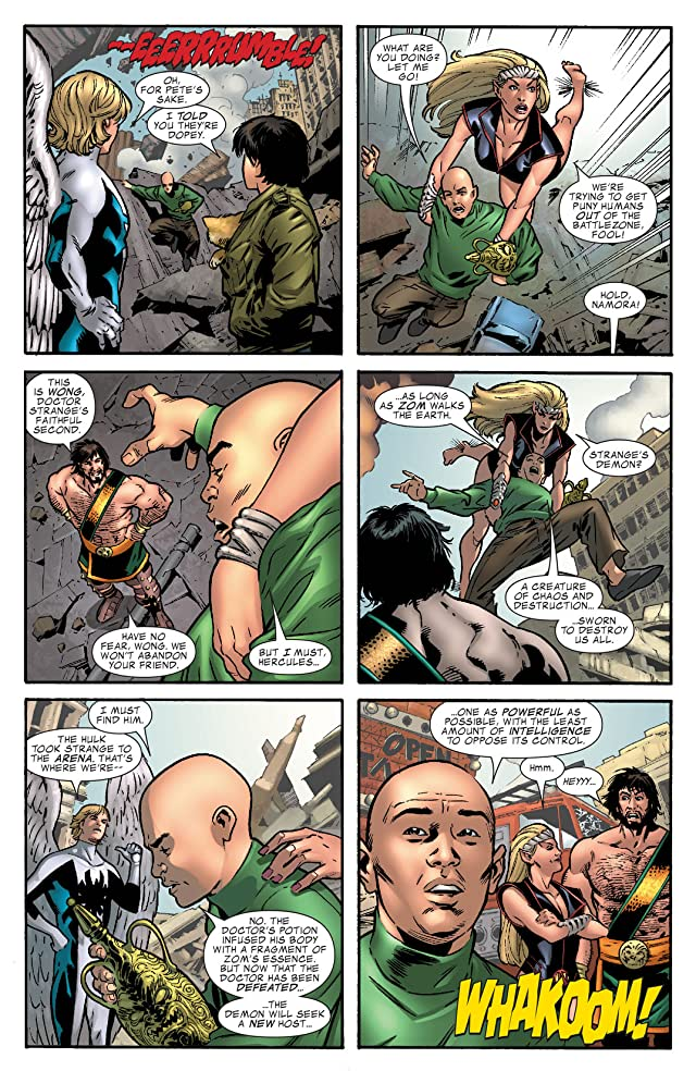 click for super-sized previews of Incredible Hulk (1999-2008) #111