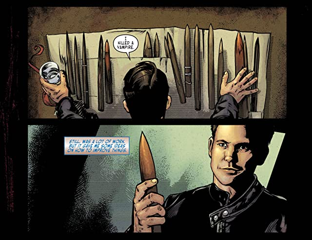 click for super-sized previews of The Vampire Diaries #9